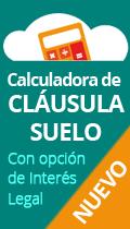 Nueva calculadora cláusula suelo